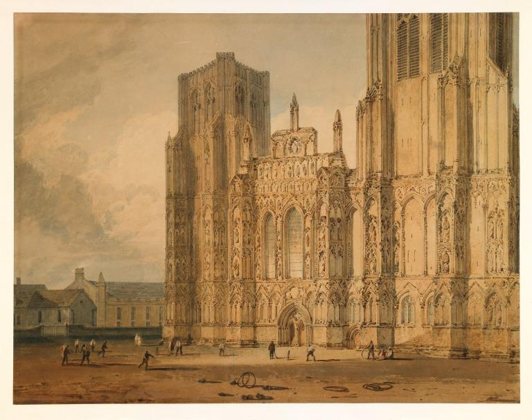 Wells Cathedral card