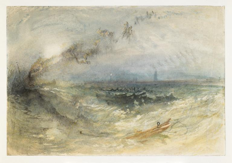 A Steamer off Ostend card