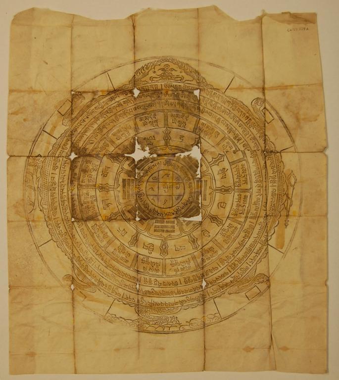 Paper amulet card