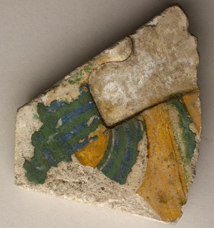 Temple Wall Relief Fragment card