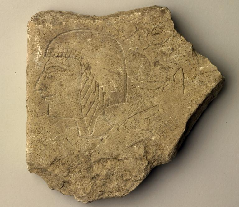 Figured Ostracon card