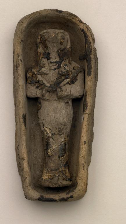 Miniature Coffin and Sokar Figure card