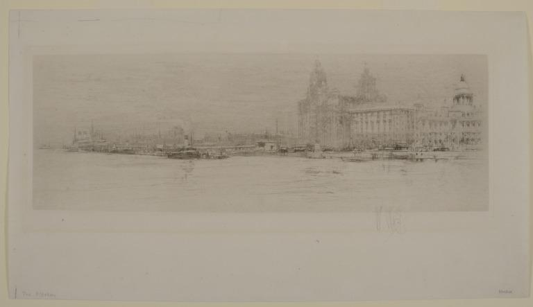Pierhead from the Mersey card
