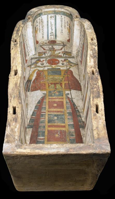 Coffin Box of Padiamun card