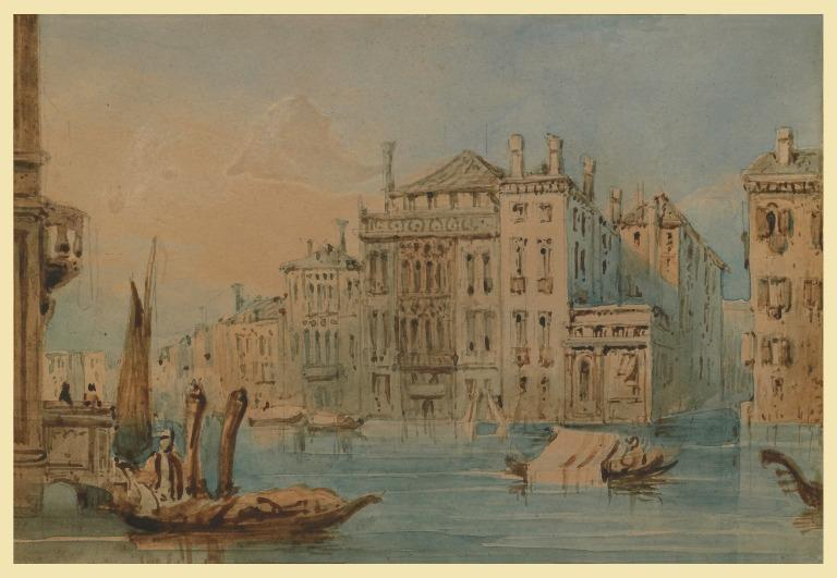 Palaces on the Grand Canal card