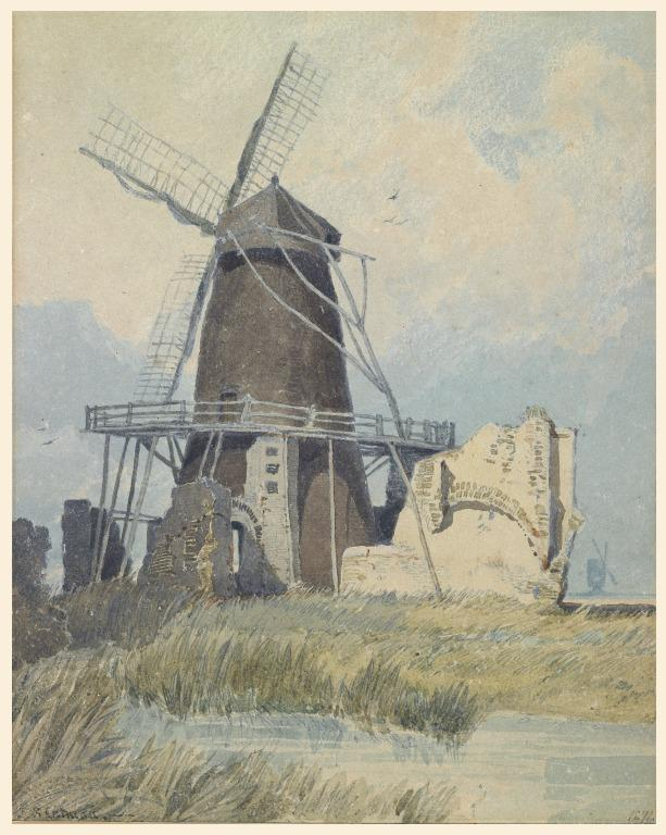 The Mill, St. Benet's Abbey card