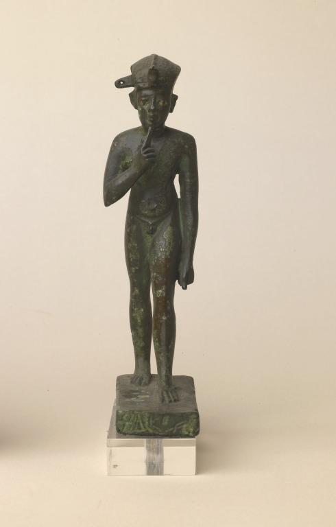 Statuette of Horus the Child card