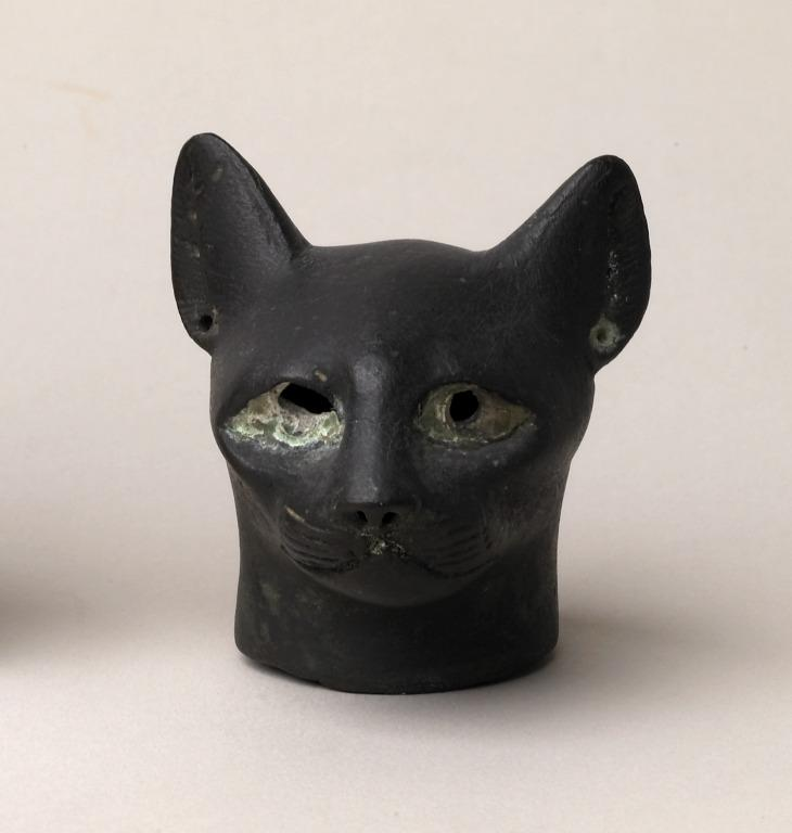 Cat Coffin Mask card