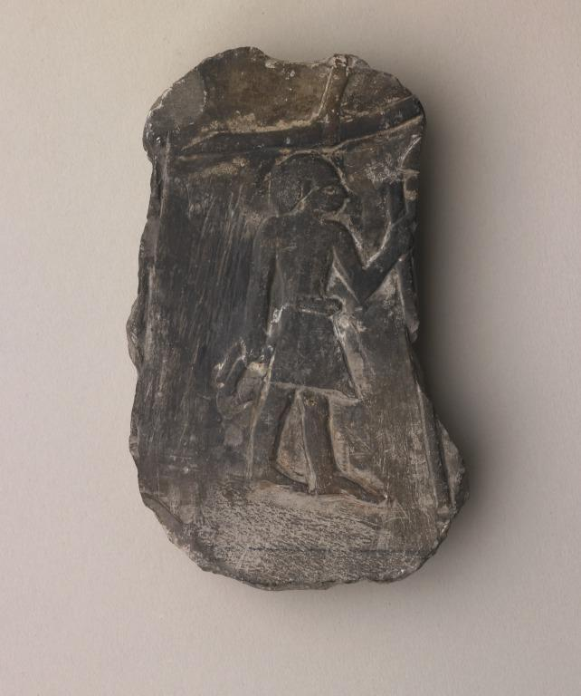 Relief Carving of a Standing Man card
