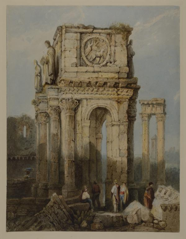 The Arch of Constantine card
