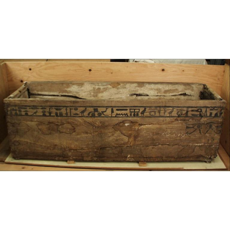 Coffin Box of Hetepti card