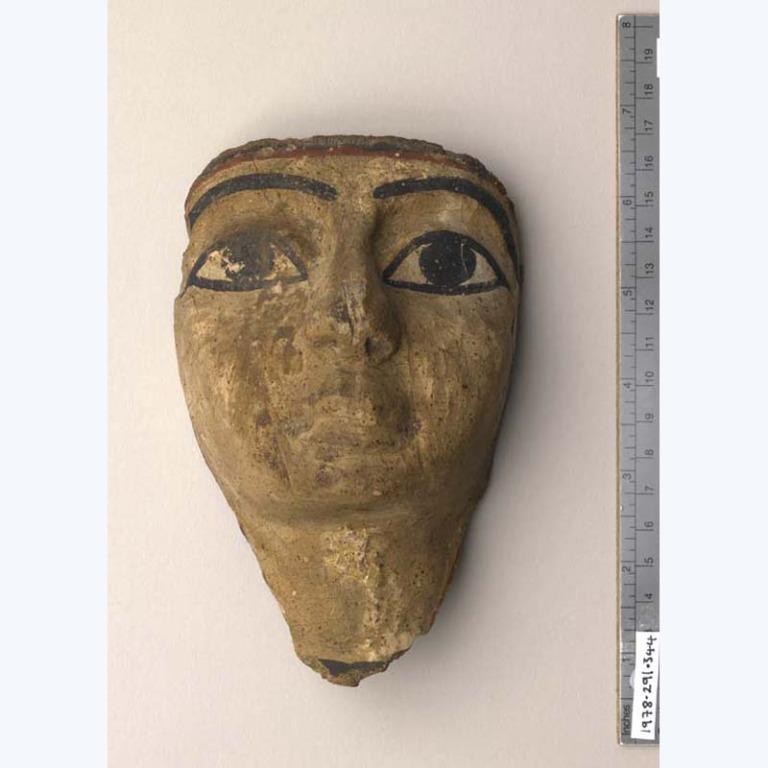 Coffin Mask card
