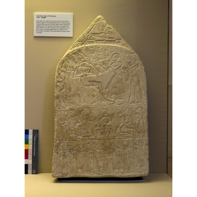 Stela of Thutmose card