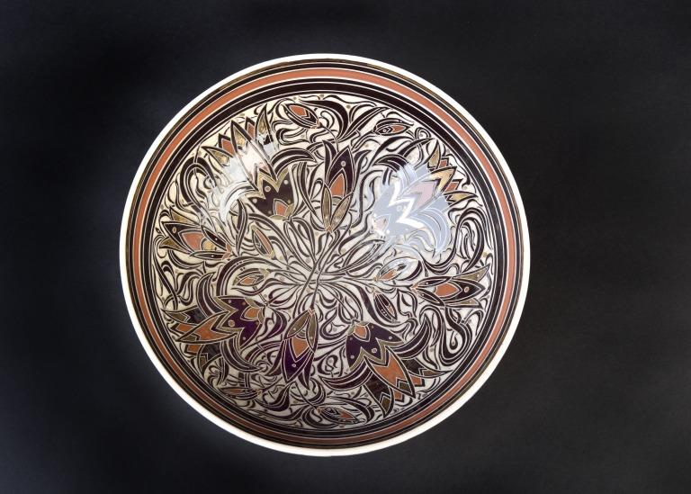 Decorated Bowl card