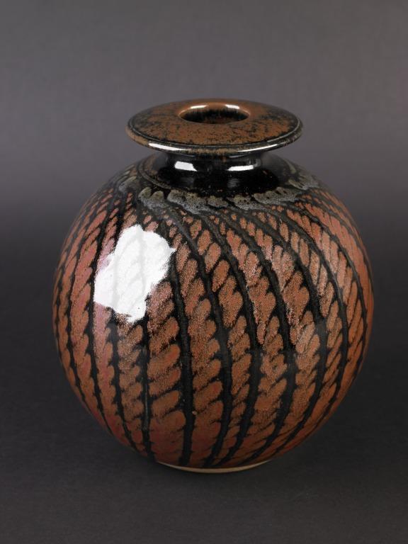 Globular Vase card