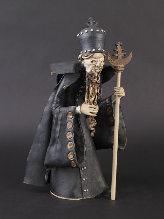 Orthodox Priest figure card