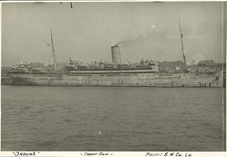 Photograph of Orduna, Psnc card