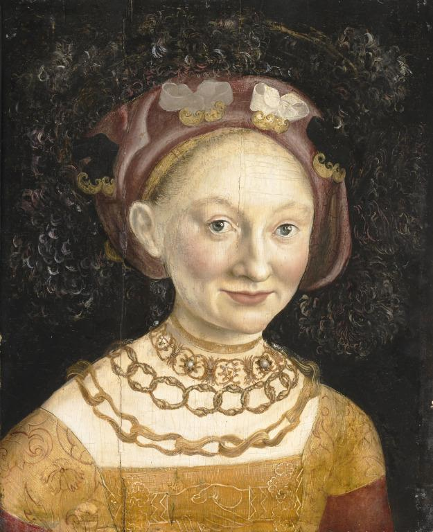 Princess Emilia of Saxony card