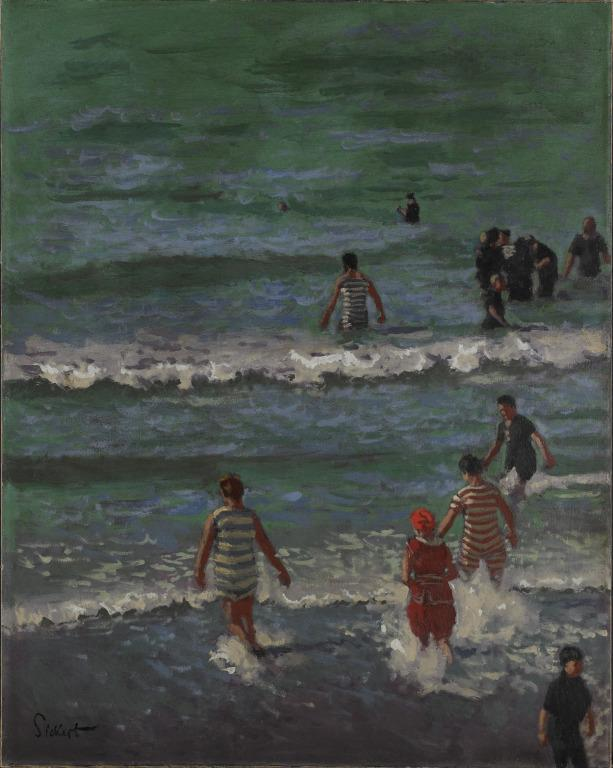 Bathers, Dieppe card