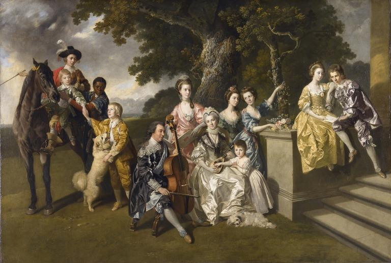 The Family of Sir William Young card