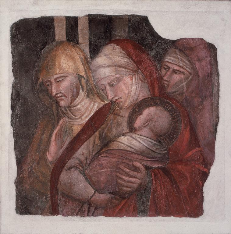 The Infant St. John presented to Zacharias card