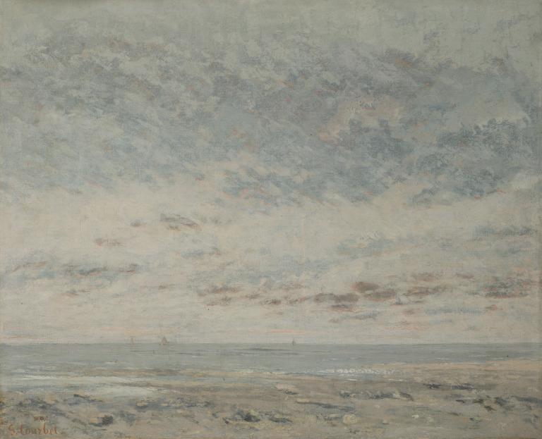 Low Tide at Trouville card