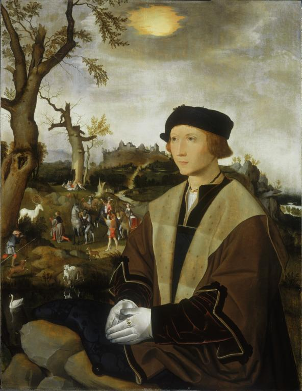Portrait of a Young Man card