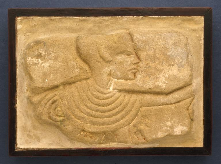 Wall Relief of Male card