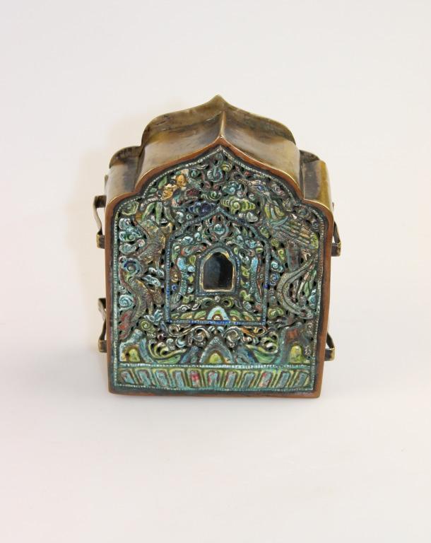 Amulet box or ga'u card