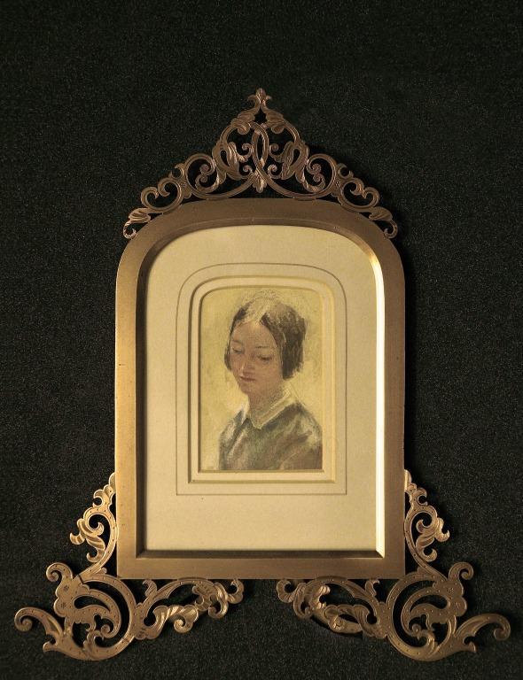 Head of a Lady card