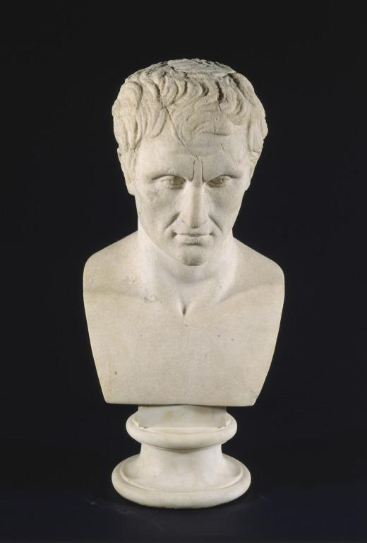 Bust of Menander card