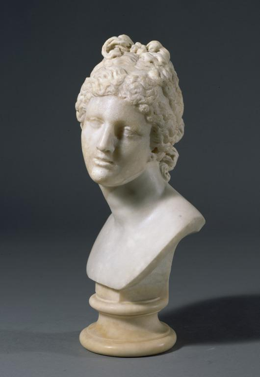 Bust of Aphrodite/Venus card
