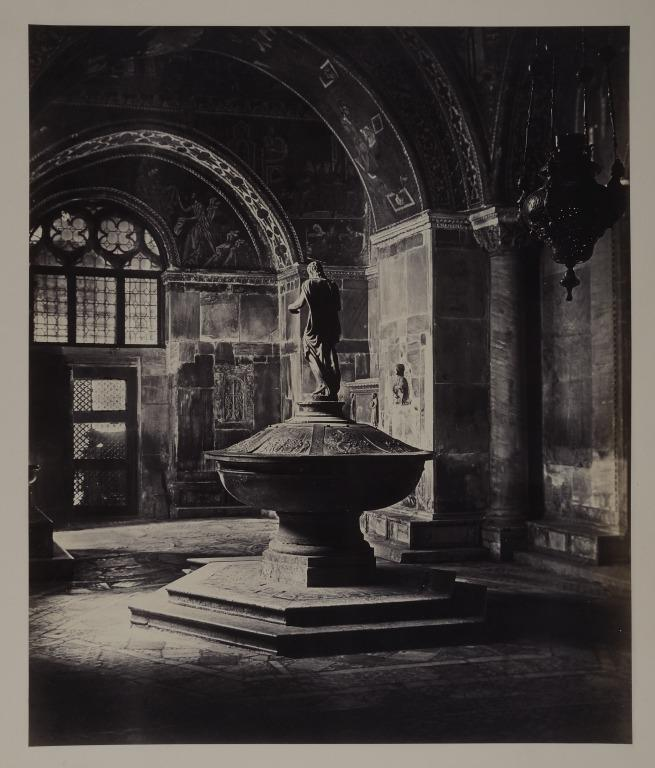 St. Mark's, Venice: the Baptistry card