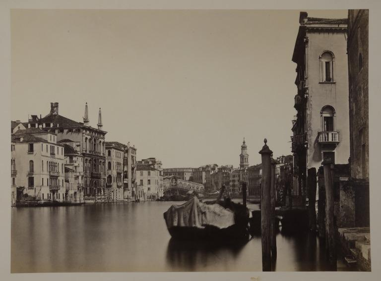 The Grand Canal, Venice, Looking North-West Towards the Rialto Bridge card