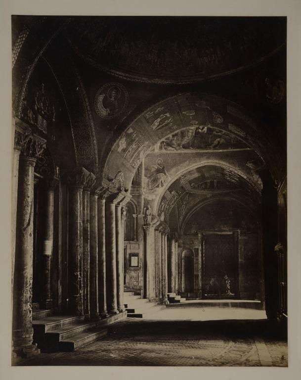 St. Marks, Venice: Interior of the Narthex card