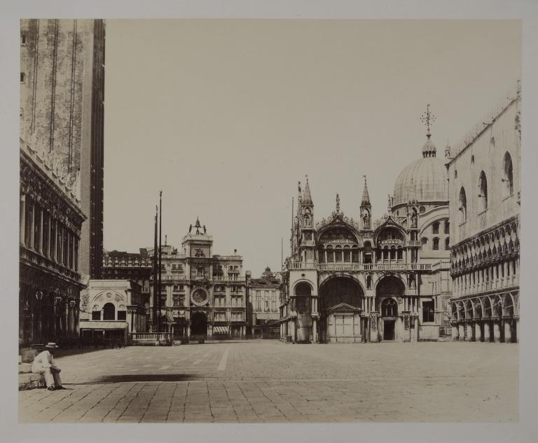 St. Mark's from the Piazzetta, Venice card