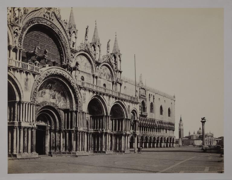 St. Mark's, Venice: the West Front with Doge's Palace Behind card