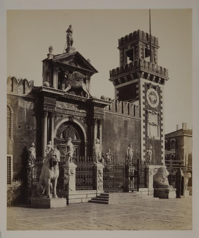 The Great Gateway of the Arsenal, Venice card