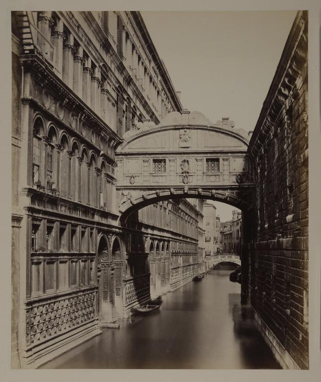 The Bridge of Sighs, Venice card
