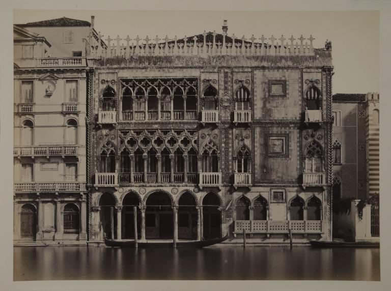 The Ca' d'Oro, Venice card