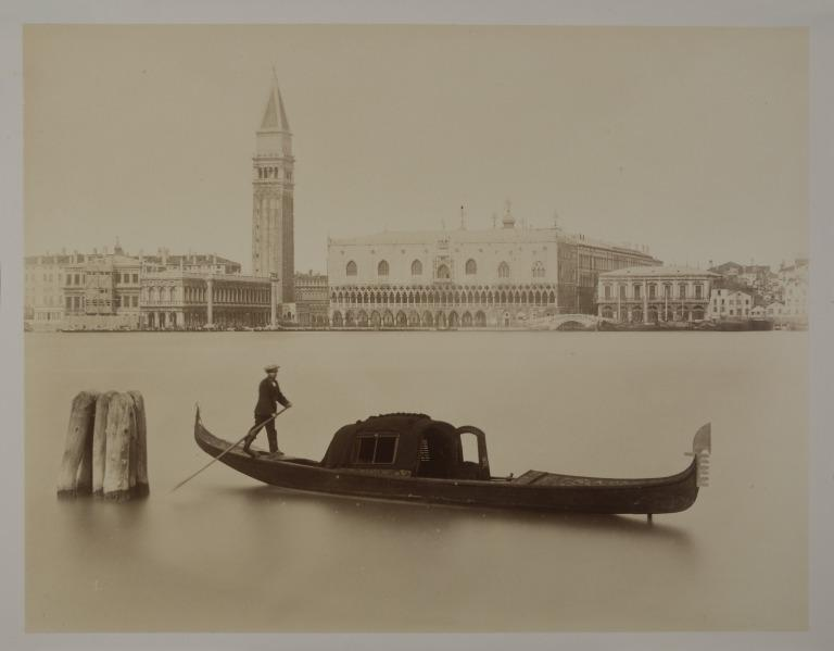 Venice: the Doge's Palace from San Giorgio Maggiore card