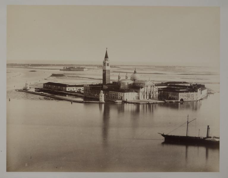 The Island of San Giorgio Maggiore, Venice card