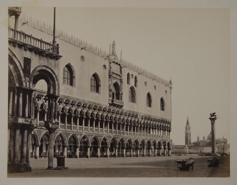 The Doge's Palace, Venice: the West Front, with San Giorgio Maggiore in the Distance card