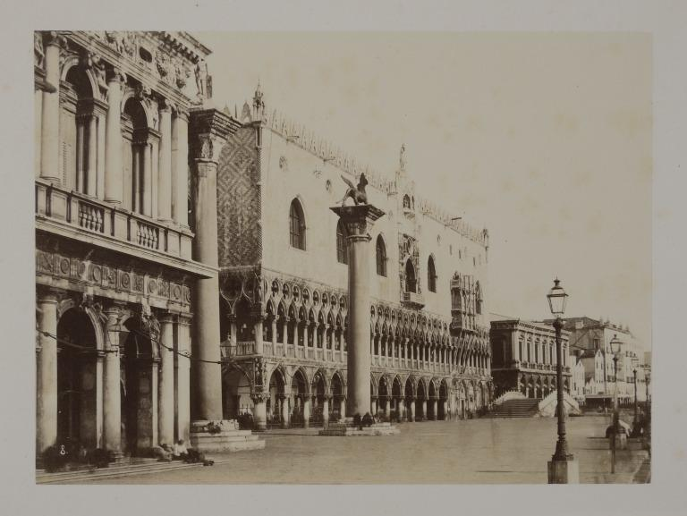 The Doge's Palace, Venice, from the South-West card