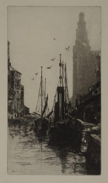 Shipping from the Liverpool Docks card