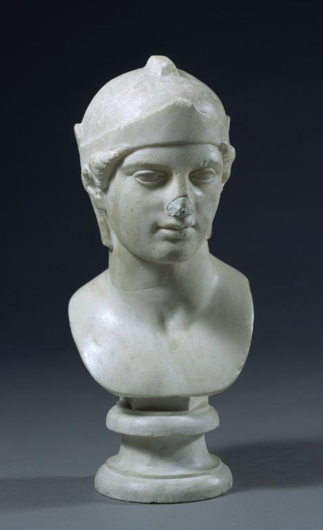 Bust of Athena card