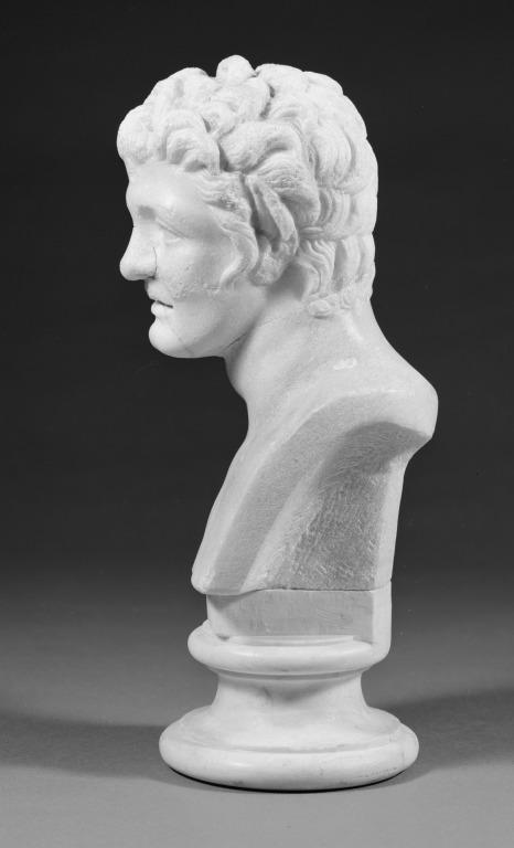 Head of a Satyr card
