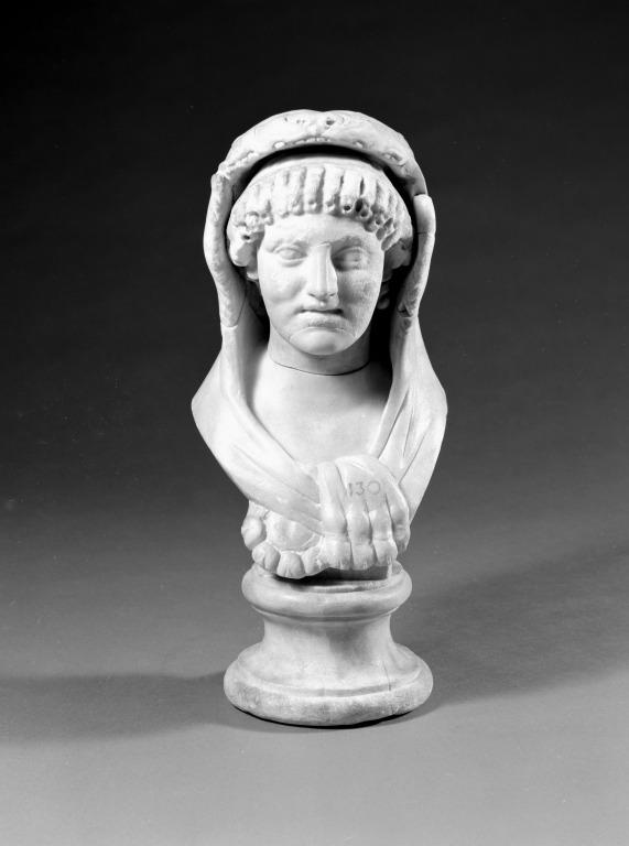 Bust of Omphale or Hercules card