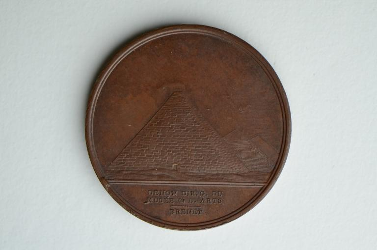 Commemorative Medal; Napoleon's Conquest of Egypt card