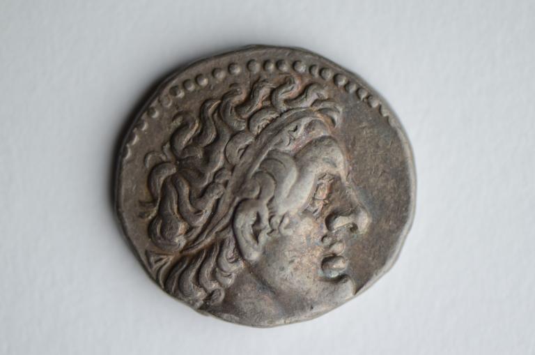 Coin; Tetradrachm card